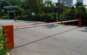 راهبند پارکینگ بازویی نایس