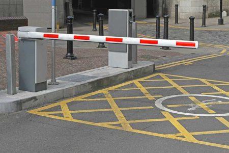 راهبند پارکینگ خارجی