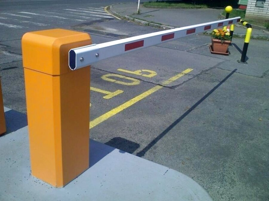 Boom Barrier Car Parking Barrier Electronic Barrier Gate parkingbarrier - راهبند اتوماتیک پارکینگ