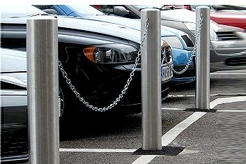 راهبند پارکینگ زنجیری